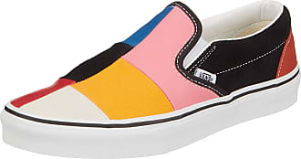 Vans Unisex Adults UA Classic Slip-On, 7, Medium Trainers, Multicolour ((Patchwork) MUL VNVMF), 6.5 (39 EU)