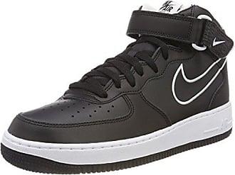 new product 11816 46d9e Nike Air Force 1 Mid 07 Leather, Baskets Hautes Homme, Noir (Black Aq8650
