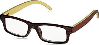 Peepers Unisex-Adult Sierra 2365225 Rectangular Reading Glasses, Burgundy, 2.25