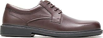 Hush Puppies Mens Strategy Oxford,Brown,9 M US
