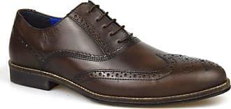 Redtape Kildare Brown Mens Leather Shoes