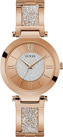 Acotis Limited Guess Watches Ladies Stainless Steel Glitz Analog Watch W1288L3
