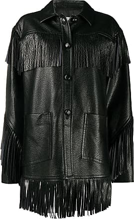 Philosophy di Lorenzo Serafini fringed leather look jacket - Black