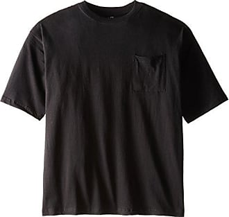 d4551970b9a Russell Athletic Mens Big and Tall Cotton Pocket Tee, Black, 2X