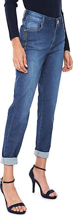 Morena Rosa Calça Jeans Morena Rosa Slim Isabelli Azul