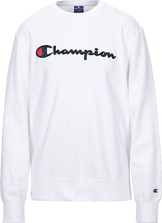 Weiß Champion Herren Grafisches Sweatshirt