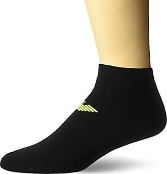 9a5170725 Emporio Armani Mens Sponge Cotton Eagle 2-Pack in-Shoe Socks
