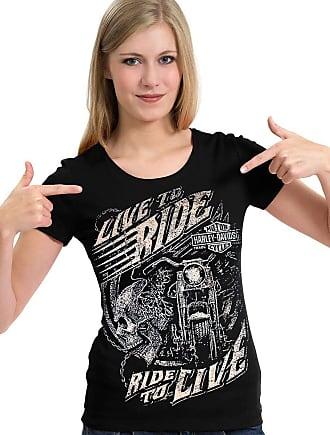 Dragon Store Camiseta Harley Davidson Moto Caveira Live Ride Camisa Blusa