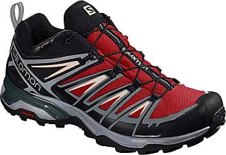 Salomon Mens Shoes X Ultra Hiking, Gray (Burnt Brick/Black/Bleached Sand), 8.5 UK