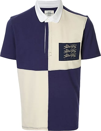 Kent & Curwen flag polo shirt - PURPLE