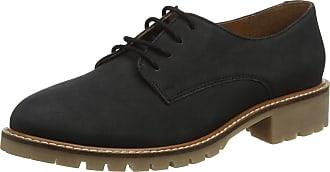 Office Womens Kennedy Derbys, Black (Black Nubuck Gum Sole 07363), 7 (40 EU)