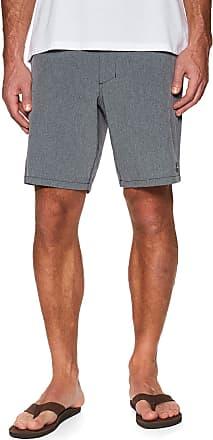 O'Neill Bar-to-Beach Mens Chino Hybrid Shorts, Scale Grey/Blue Medium