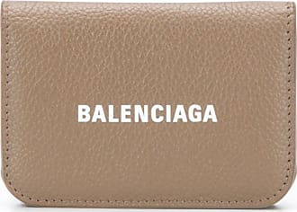 Balenciaga cash mini wallet - Marrom