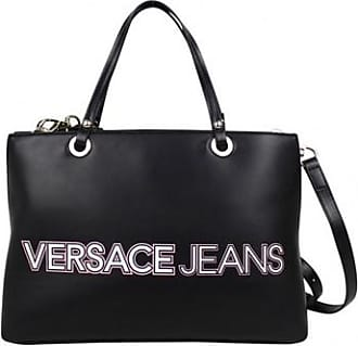 64a96ce707f9 Versace Jeans Couture Sac à main noir mat motif logo E1VPBBO4