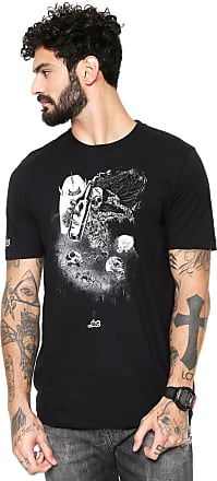 ...Lost Camiseta...Lost Surf Ruined Preta