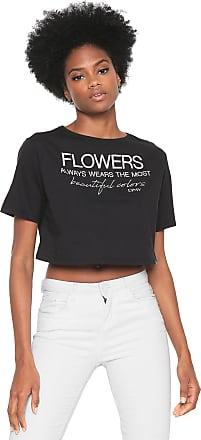 Dimy Camiseta dimy Ampla Lettering Preta