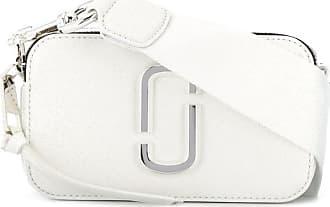 Marc Jacobs Bolsa transversal com placa curva - Branco