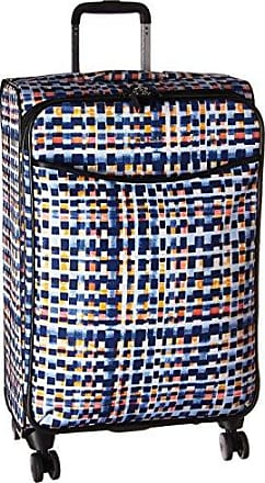 Vera Bradley Iconic Large Spinner Suitcase, Abstract Blocks