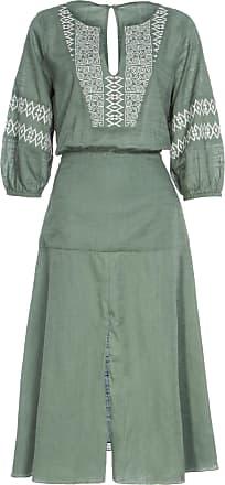FYI Vestido Bordado Le Berbere Fyi - Verde
