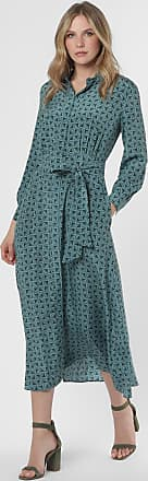 Max Mara Damen Kleid aus Seide - Ornella blau