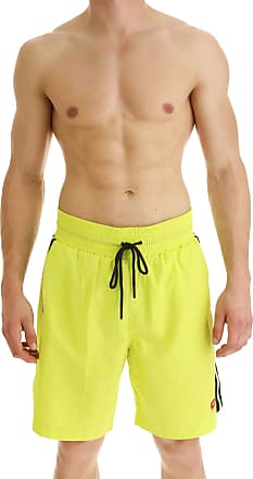 51888f4d93 Diesel Swim Shorts Trunks for Men On Sale, Yellow, polyester, 2017, S M L