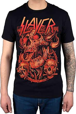 AWDIP Official Slayer Three Skulls 2014 Dates T-Shirt Black