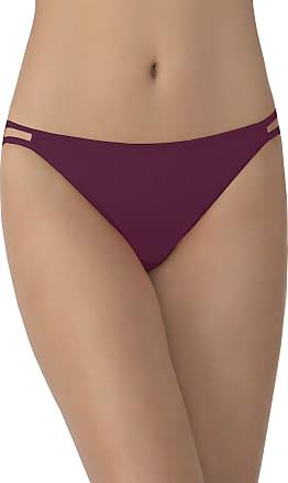Vanity Fair Womens Illumination String Bikini Panty 18108 Style Underwear, Chilled Wine S