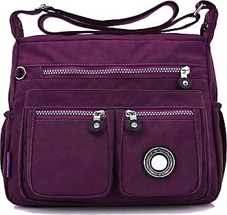 GFM Womens Nylon Waterproof Cross Body Shoulder Bag (S1-171-GHJMN)