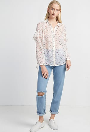 French Connection Florence Crinkle Blouse