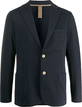 Eleventy single-breasted regular-fit blazer - Blue