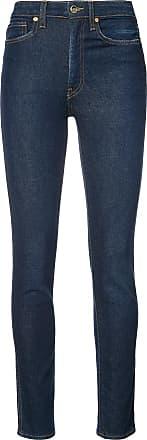 Khaite Calça jeans skinny cintura alta - Azul