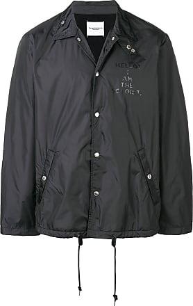 TAKAHIROMIYASHITA TheSoloist. high neck lightweight jacket - Preto