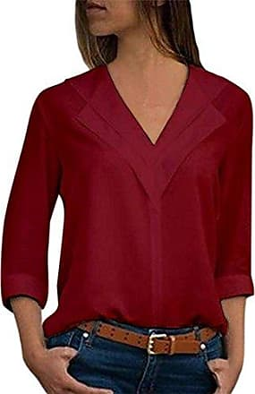 XuxMim Frauen Casual Plus Size Tops Stickerei Solid Shirt Vintage Button Lose Bluse