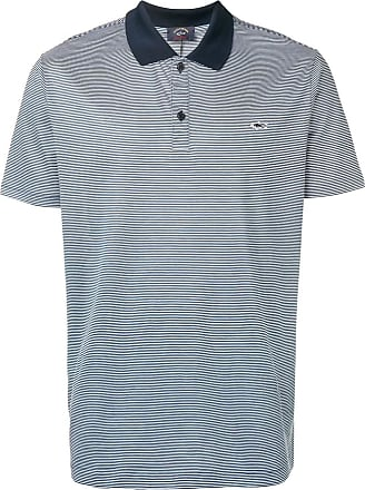 Paul & Shark Camisa polo listrada - Azul