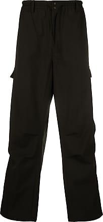 Yohji Yamamoto cargo loose pants - Preto