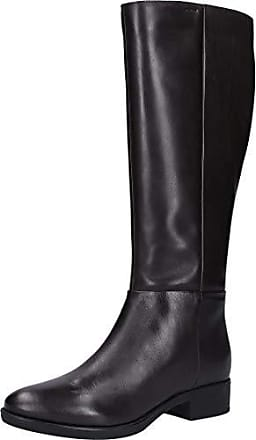 Geox anfibio asheely b in vernice da donna Color black