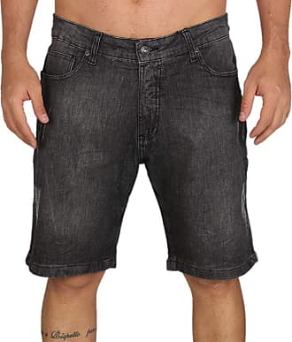 MCD Bermuda Jeans Mcd New Slim Newness - Preta - 38
