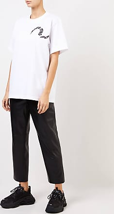 sacai T-Shirt Melting Pot Weiß 100% Baumwolle Made in Japan 1 = 34 2 = 36 3 = 38 4 = 40