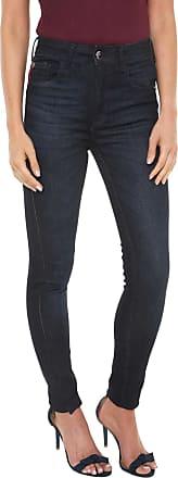 Ellus Calça Jeans Ellus Skinny Comfort Power Azul-marinho