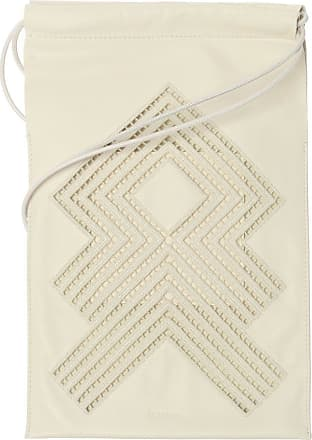 Jil Sander Shoulder Bag With Logo Womens White