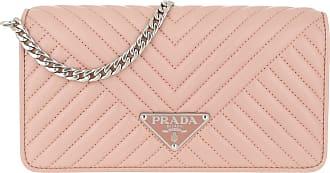 01fa17e4d7387 Prada Mini Crossbody Bag Quilted Leather Orchidea Umhängetasche rosa