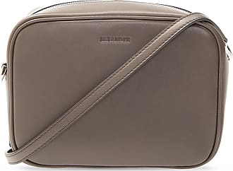 Jil Sander Shoulder Bag With Logo Womens Grey