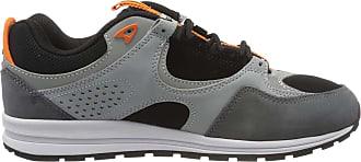 DC Mens Kalis Lite Se Skateboarding Shoes, Multicolour (Black/Orange Bo1), 10.5 UK