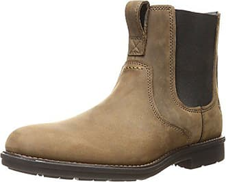 Timberland Mens Carter Notch Chelsea Boots, Brown, 11.5 M US