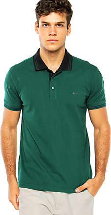 Aramis Camisa Polo Aramis Regular Fit Frisos Verde