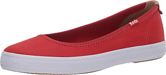 Keds womens WF61839 Bryn Seasonal Solids Red Size: 6 UK