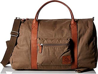 Buxton Mens Expedition Ii Huntington Gear Canvas Convertible Duffel, Olive