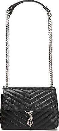 Rebecca Minkoff Rebecca Minkoff Woman Chain-trimmed Quilted Leather Shoulder Bag Black Size