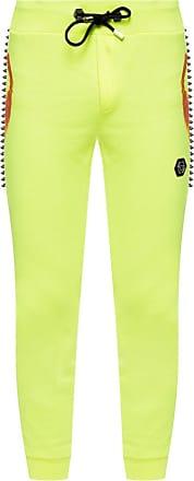 Philipp Plein Studded Jogging Pants Mens Yellow
