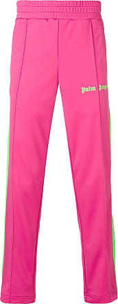 Palm Angels side stripe track trousers - Pink